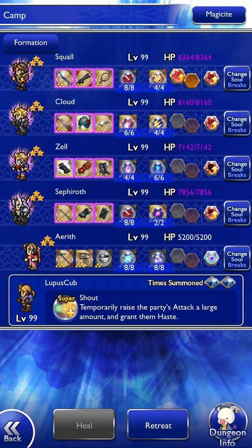 Forsaken 64 Characters